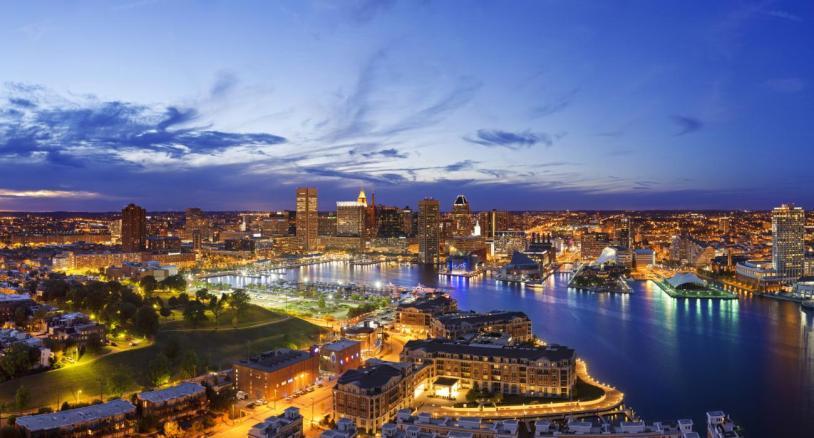HERO 1 -- Baltimore Evening Panorama - Quarter Res_Web72DPI_0